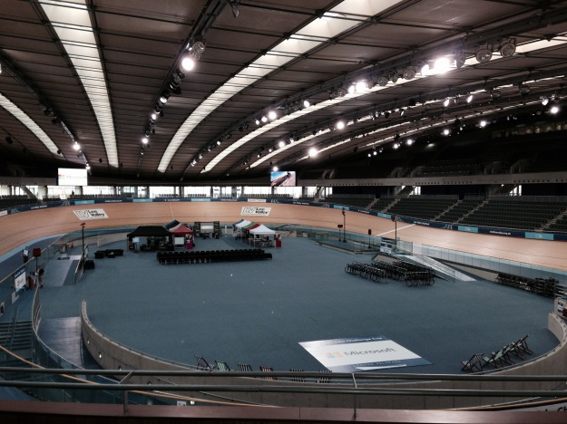 Initial view of Velodrome