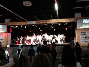 Huge stage demos