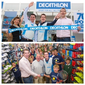 Decathlon Oxford opening