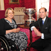 Tanni GT photo with HRH The Earl of Wessex